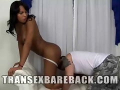 Bareback Action With Lynda Karoynne